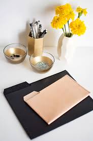 Roundup 11 diy home office Loves Julia Diy Leather File Folders Homey Oh My Diy Leather File Folders Homey Oh My