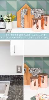 how to resurface laminate countertops for less than 50