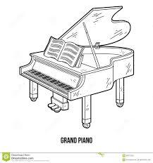 Dessin De Piano A Queue A Imprimer L