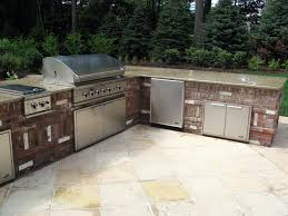 outdoor brick kitchen designs