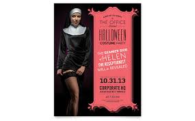 Word Halloween Templates Halloween Costume Party Flyer Template Word Publisher