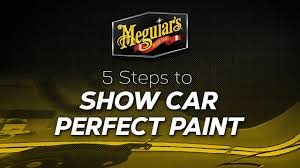 Meguiars Buffing Compound Chart How To 5 Steps To A Show Car Finish With Meguiars