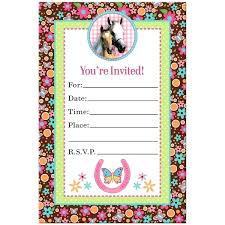 Birthday Invitation Design Templates Enchanting Idea Make Your Own Birthday Invitations Free Or Horse Birthday