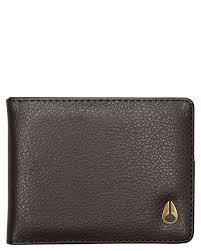 nixon cape vegan leather wallet