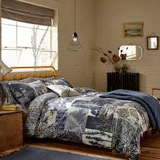 indigo patchwork duvet cover super king