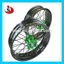 js racing parts kawasaki kxf 250 wheels for motocross racing and
