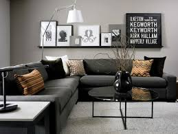 Black Sofa Grey Walls 69 Fabulous Gray Living Room Designs To Inspire You  Decoholic Used Sofa
