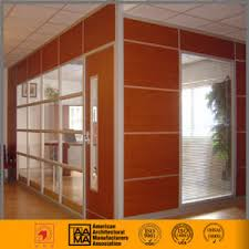 wood office partitions. Wood / HPL Finish + Glass Office Partition Wall Partitions