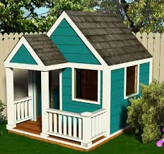 simple wooden playhouse plans 6 x 8 diy pdf instant