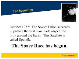 Image result for putting the first man in space