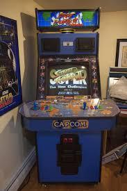 super street fighter ii big blue cabinet arcade machine popular