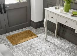 Patterned Bathroom Floor Tiles Enchanting Patterned Bathroom Floor Tiles Theme Amberyin Decors Charming