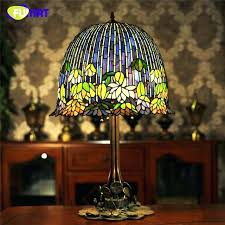 table lamps with glass shades glass art table lamp quality style water lily bedside lamp stained