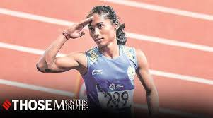 On thursday, she ran her first competitive race in more than a year and won a gold in the women's 200m with a time of 23.31 seconds in the indian grand prix ii. Hima Das Sprinting Into Spotlight Sports News The Indian Express