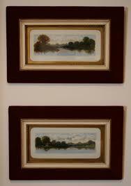 oil painting on milk glass williamsantiques