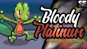 NDS] Pokemon Bloody Platinum Completed - Pokemoner.com