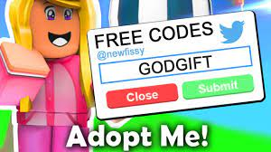 Even though adopt me codes existed in the past, the option to even redeem codes has now been removed from the game. Every Working Code In Adopt Me Roblox Youtube