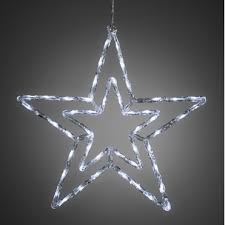metallic pendant lighting design discoveries. Star 58cm With 48 White LEDs - Mains Powered Metallic Pendant Lighting Design Discoveries