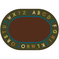 alphabet circle time nature classroom rugs