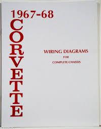 corvette factory wiring diagram manual  1967 1968 corvette factory wiring diagram manual