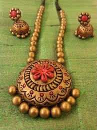 terracotta necklace designs and collections