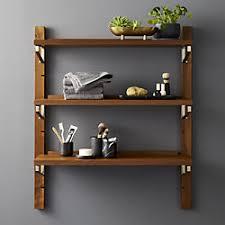 wall storage shelf with hooks. Walnut Modular Single Shelf 395 For Wall Storage With Hooks