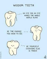Wisdom Teeth Funny on Pinterest | Wisdom Teeth Video, Dental ... via Relatably.com