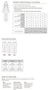 Carhartt Size Chart Women S 49 Up To Date Carhartt Overall Size Chart