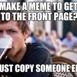 Lazy College Senior Meme Generator - Imgflip via Relatably.com