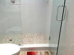 Bathroom Shower Tile Ideas Delectable Sliced Bali Ocean Pebble Tile Border Sliced Pebble Tile Lowes