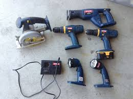 power tools for sale. power tool set in whatleyworld\u0027s garage sale genoa city , wi for $45. 6 tools c