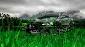 mitsubishi lancer evolution jdm crystal nature car
