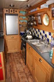 Narrowboat Design And Layout Kitchen Layout Tynehouse Decor Cottage Canal Boat