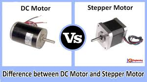 dc motor vs stepper motor difference between dc motor and stepper motor