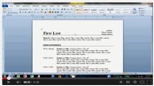 best resume linkshow to make an easy resume in microsoft word by daves writing tips