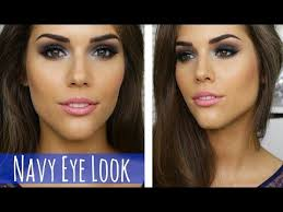 blue smokey eye makeup tutorial prom party clubbing or special event makeup you