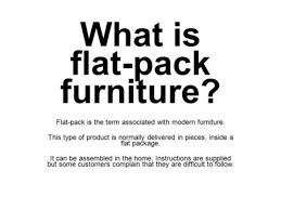 what is flat pack furniture. what is flatpack furniture the term associated with modern flat pack
