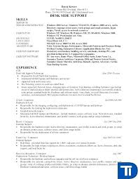 desktop resume desktop support technician desktop support technician resume example