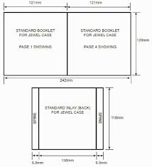 Cd Case Dimensions Bearmans A2 Media Work Cd Case Dimensions