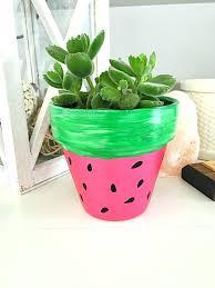 painted plant pots painting terracotta