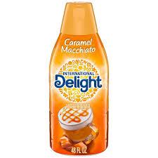 International delight coffee creamer, french vanilla. International Delight Caramel Macchiato Liquid Coffee Creamer Shop Coffee Creamer At H E B