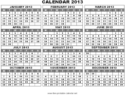 printable year calendar 2013 2013 calendar by month barca fontanacountryinn com