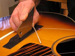 learn about guitar pickups electronics wiring stewmac com fixing an acoustic pickup fast it has to be onstage in an hour
