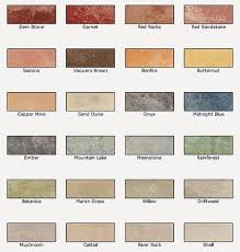 Valspar Wood Stain Color Chart Valspar Semi Transparent Concrete Stain Colors For A Natural