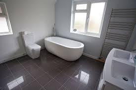 gray tile bathroom floor. Amazing Gray Bathroom Floor Tile Modern Grey Designs With Wall Mounted Pertaining To O