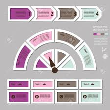 Infographics Process Chart Module Template For Cycling Diagram