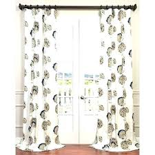 Navy Blue Patterned Curtains Beauteous Navy Blue Patterned Curtains Eyelet Bi Beautiful Blackout