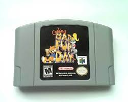 N64 Price Chart Conkers Bad Fur Day 64 2001