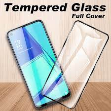 Protective Glass Screen Protector For OPPO A75 A73 5G 2020 A74 A77 A72 A79  Tempered Glass Full Cover Glass Film|Phone Screen Protectors