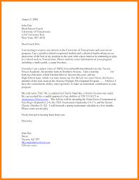 Letter Of Interest Sample Sarahepps Com